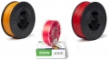 KIT PLA 1.75mm - 3 Colori (Arancione-Magenta-Rosso)