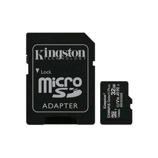 Kingston Canvas Micro SDHC 32GB - Classe 10