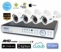Kit Videosorveglianza 8 telecamere AHD 3MPX 1080P con disco 1TB
