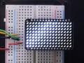LED Charlieplexed Matrix - 9x16 LEDs - White