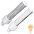LED PL G24 10W 2700K - Luce calda