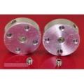 Pololu Universal Aluminum Mounting Hub for 3mm Shaft, #2-56 Hole