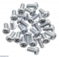 Machine Screw: M3, 6mm Length, Phillips (25-pack)