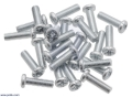Machine Screw: M3, 10mm Length, Phillips (25-pack)