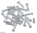 Machine Screw: M3, 12mm Length, Phillips (25-pack)
