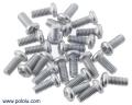 Machine Screw: M3, 7mm Length, Phillips (25-pack)