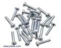Machine Screw: #2-56, 3/8″ Length, Phillips (25-pack)