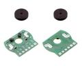 Magnetic Encoder Pair Kit for Mini Plastic Gearmotors, 12 CPR, 2
