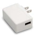 Mean Well Slim Wall-Mounted Power Adapter USB A 12W - 5V, 2.4A