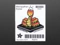 MicroPython Sticker
