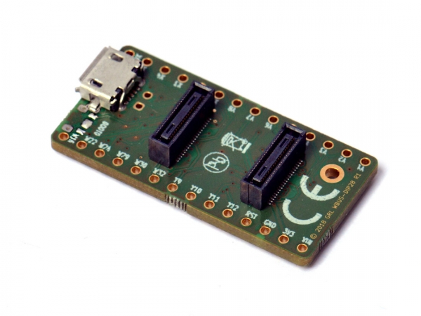 MicroPython pyboard D adapter with power management IC