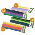 Mix color PLA pack for 3Doodler - 200pcs