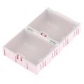 Modular Plastic Storage Box - Large (2 pack)