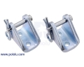 Mounting Bracket Pair for Glideforce Light-Duty Linear Actuators