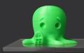 Small PLA Neon Green 200g Spool 1,75mm Filament