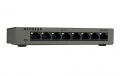 Netgear GS308-100PES Switch Gigabit Ethernet, Case Metallico, 8
