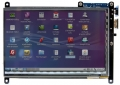ODROID-VU7 : 7inch 800×480 HDMI display with Multi-touch