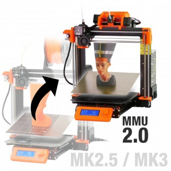 Original Prusa i3 MK2.5S/MK3S Multi Material 2S upgrade kit (MMU