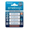 Panasonic Eneloop Batterie Stilo AA Ricaricabili, 1900mAh, 4 pez