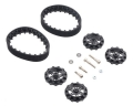 Pololu 22T Track Set - Black