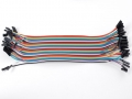 Premium Female/Female Jumper Wires - 40 x 6""