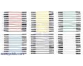 Premium Jumper Wire 60-Piece 6-Color Assortment M-F 2 (inches)