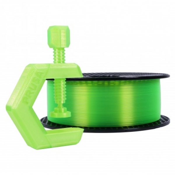 Prusament PETG Neon Green Transparent 1kg