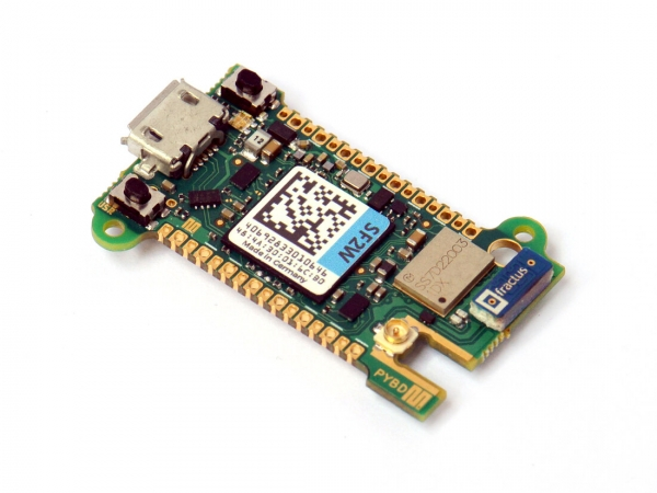 Pyboard D-series with STM32F722 and WiFi BT