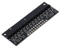 QTRX-HD-15A Reflectance Sensor Array: 15-Channel, 4mm Pitch, Ana
