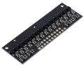 QTRX-HD-15RC Reflectance Sensor Array: 15-Channel, 4mm Pitch, RC
