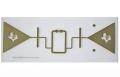 """RFID TRANSP IN-LAY GEN II 1X3.5"""""""