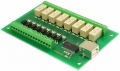 USB-OPTO-RLY88 - 8 optically isolated inputs, 8 relays