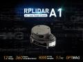 RPLiDAR A1M8 360 Degree Laser Scanner Kit - 12M Range