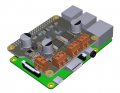 Hat Motor Pi - Raspberry Pi Motor Shield