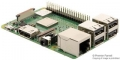 Raspberry Pi 3 Model B+, BCM2837B0 SoC, IoT, PoE Enabled