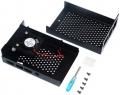 Raspberry Pi 4B Case in Alluminio - Ventola inclusa