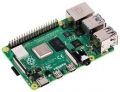 Raspberry Pi 4 Model B, SoC BCM2711, RAM DDR4 1GB, USB 3.0