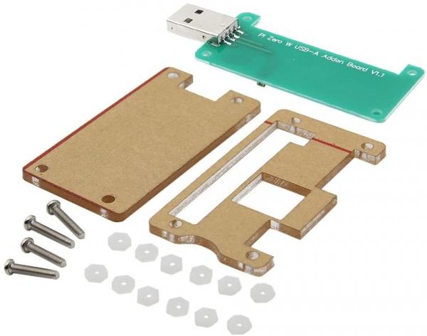 Raspberry Pi Zero W USB-A Addon Board