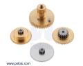 Replacement Gear Set for Power HD 1501MG High-Torque Servos