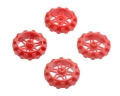 Replacement Sprocket Set for Zumo Chassis - Red