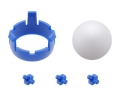Romi Chassis Ball Caster Kit - Blue