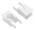 Romi Chassis Motor Clip Pair - White
