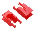 Romi Chassis Motor Clip Pair - Red