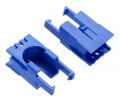 Romi Chassis Motor Clip Pair - Blue