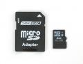 SD/MicroSD Memory Card (4 GB SDHC) -