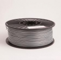 Silver ABS 1kg Spool 1,75 mm Filament