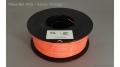 Safety Orange ABS 1kg Spool 1,75mm Filament