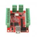 Scheda Controller CNC Mach3 4 Axis USB 100KHz 24V DC