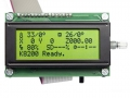 Scheda LCD controllo autonomo 3DRAG - montata