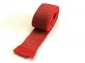 Sensitive fabric switch, 4 cm x 100 cm Red